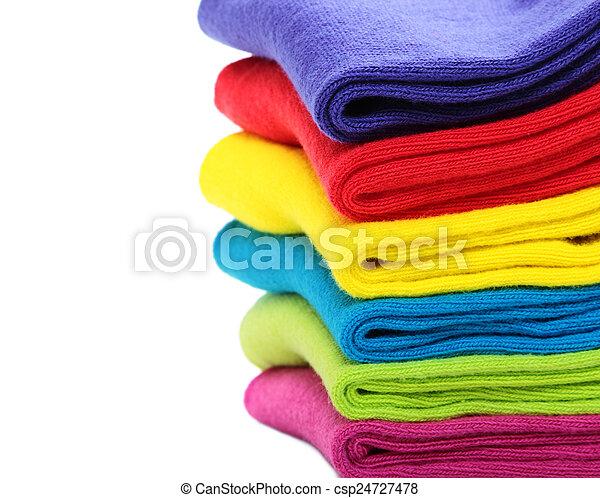 coloridos, meias - csp24727478