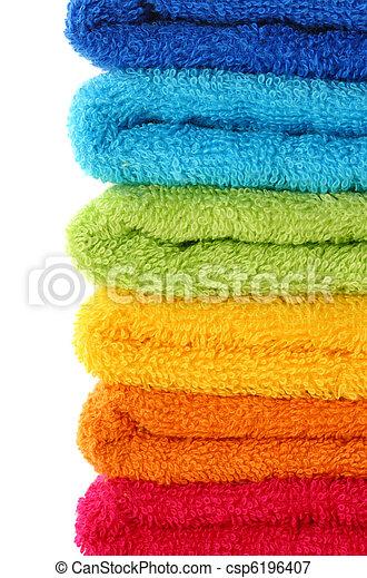 coloridos, toalhas - csp6196407