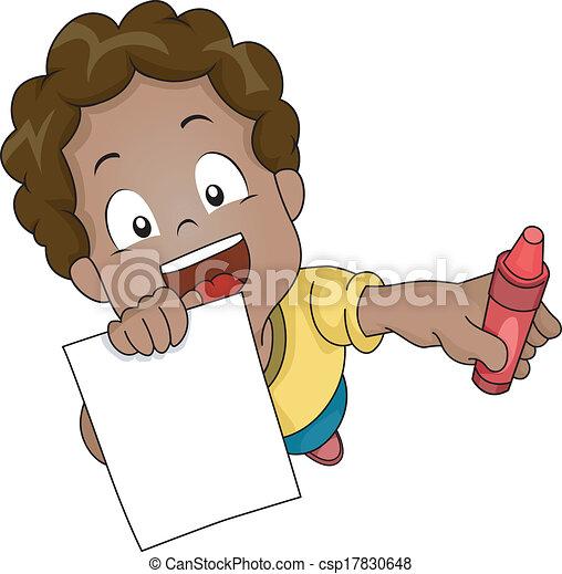 Coloring Book Boy - csp17830648