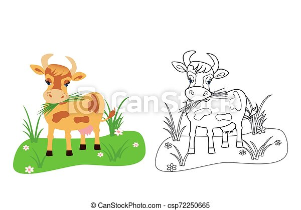 clip art image of cow - Clip Art Library
