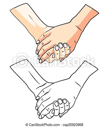 Coloring Book Relation Character Coloring Book Relationship Hand