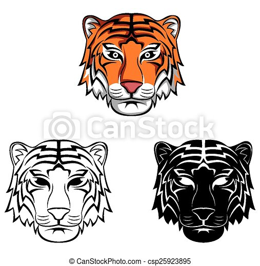 Coloring Book Tiger Character Coloring Book Tiger Cartoon