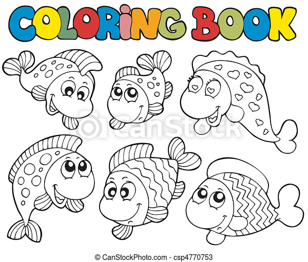 coloring book with crazy fishes vector illustration seashell clipart freeware black and white seashell clipart freeware black and white