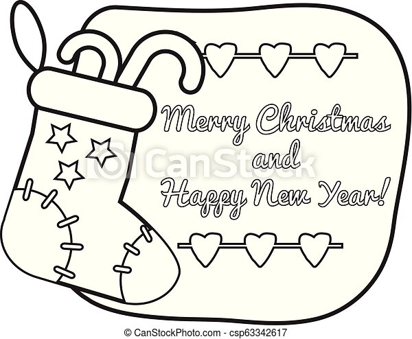 Stockings Coloring Pages Stocking Page Cool Free Printable ... | 376x450
