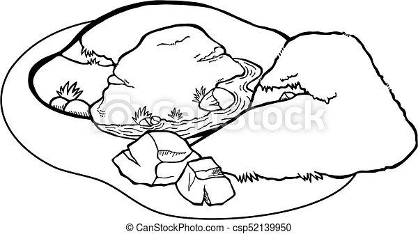 Coloring Page Landscape - csp52139950