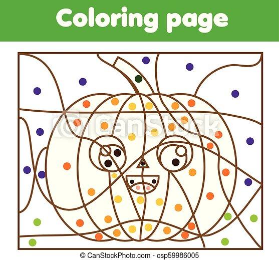 Pumpkin Coloring Pages - GetColoringPages.com | 423x450