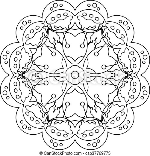 Grown Up Colouring Coloring Sheets Art Therapy 18806 ... | 469x450