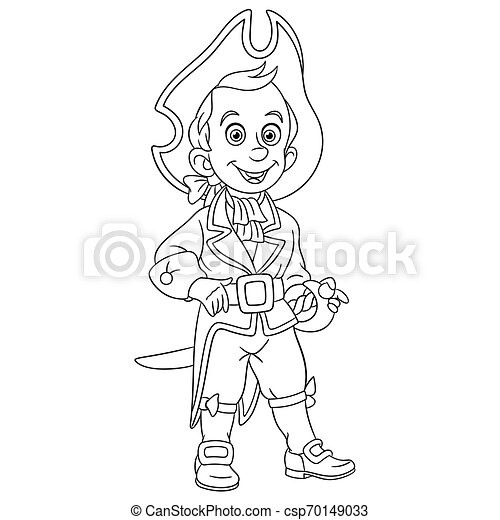 Pirate Coloring Pages For Kids - Coloring Home | 470x450