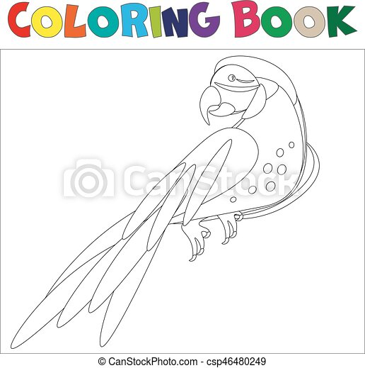 Free Printable Parrot Coloring Pages For Kids | 456x450