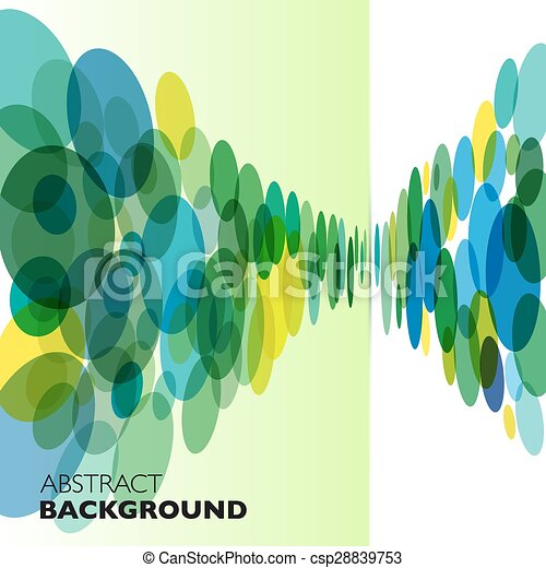 colorito, astratto, geometrico, vettore, fondo. - csp28839753