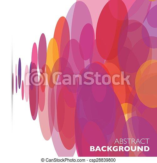 colorito, astratto, geometrico, vettore, fondo. - csp28839800