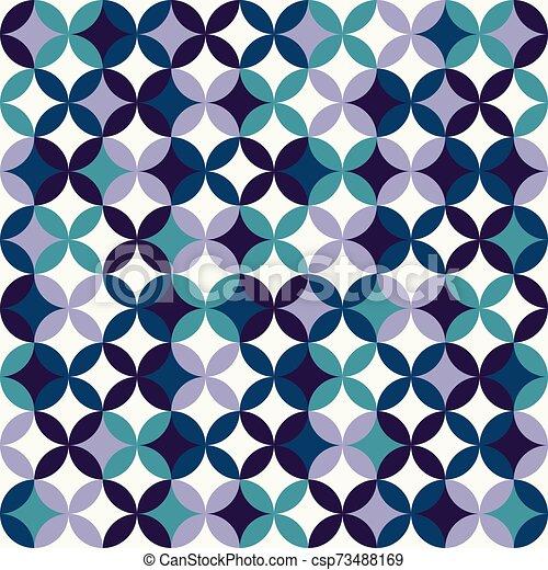 colorito, geometrico, seamless, modello, fondo., astratto, design. - csp73488169