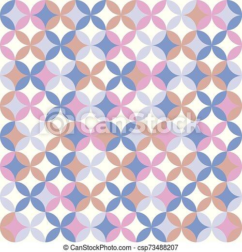 colorito, geometrico, seamless, modello, fondo., astratto, design. - csp73488207