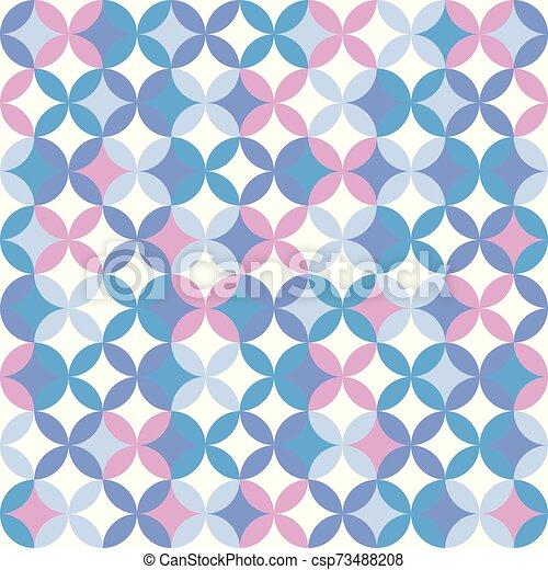 colorito, geometrico, seamless, modello, fondo., astratto, design. - csp73488208