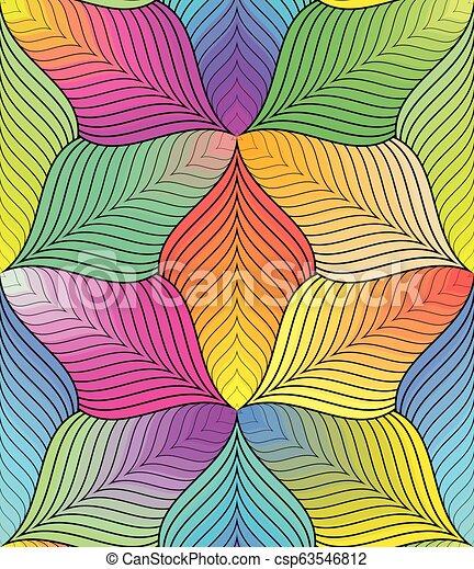 colorito, modello, astratto, linee, seamless, fondo., geometrico - csp63546812