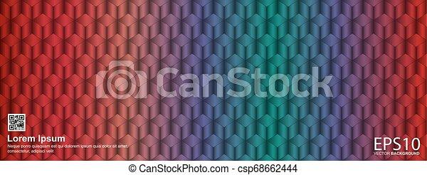 colorito, modello, astratto, seamless, fondo., geometrico - csp68662444