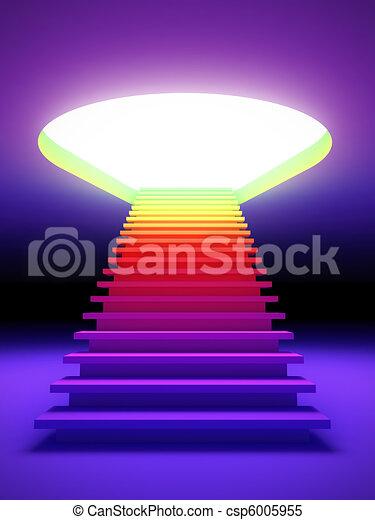 colorito, scala, future. - csp6005955