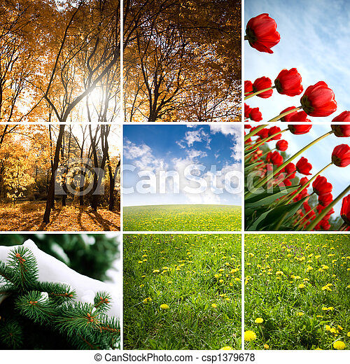 colors of season - csp1379678