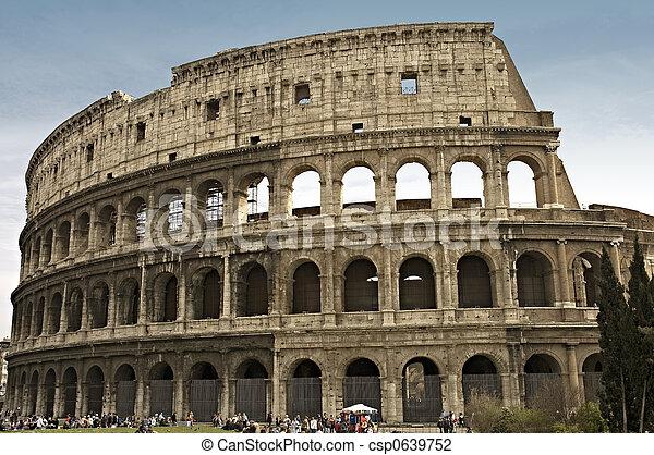 colosseum, ローマ, イタリア - csp0639752
