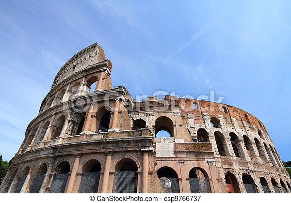 Colosseum, Rome - csp9766737