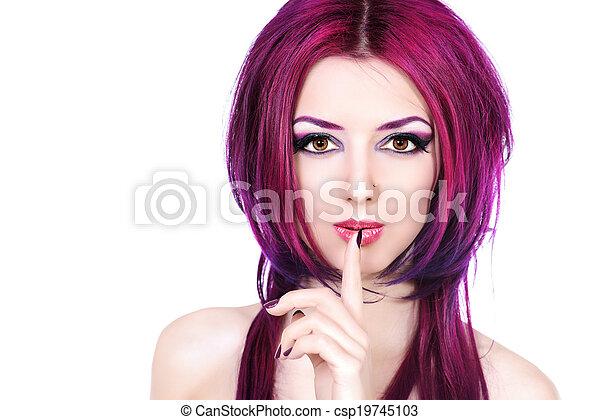 colour cosmetics - csp19745103