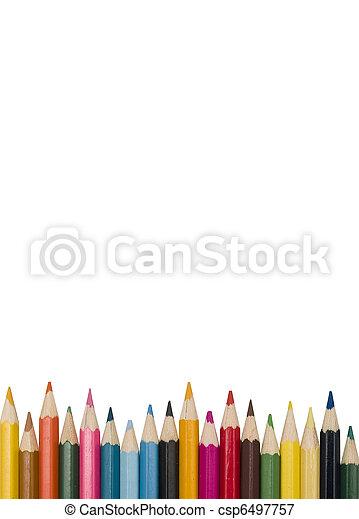 Colour pencils - csp6497757
