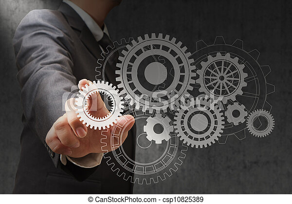 Colour wheels as symbols of engineering - csp10825389