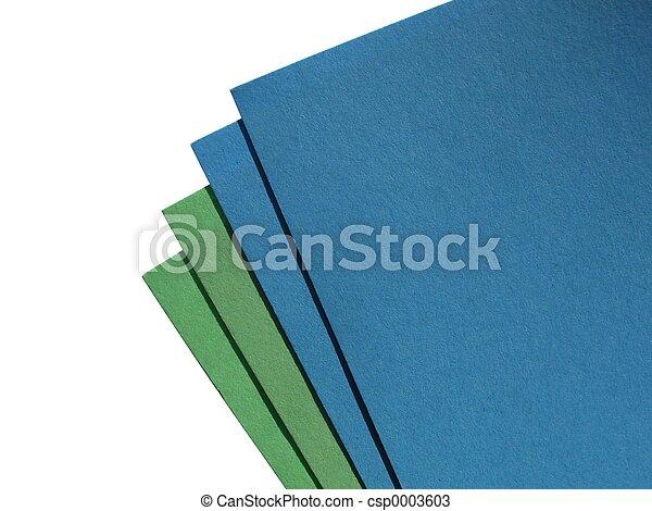 Coloured paper - csp0003603