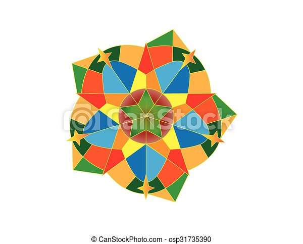 Colourful Christmas Lantern Vector