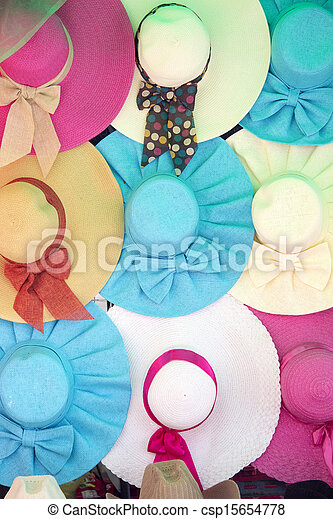 Colourful hats - csp15654778