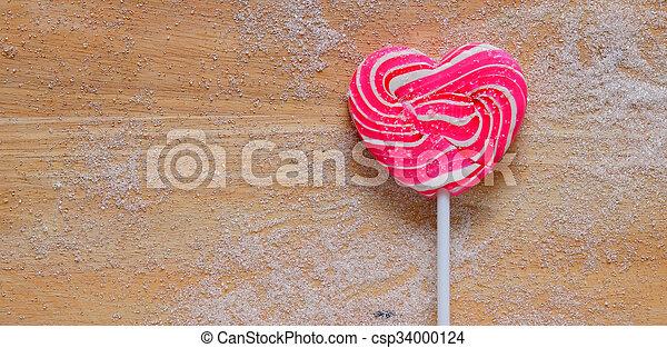 Colourful lollipop - csp34000124