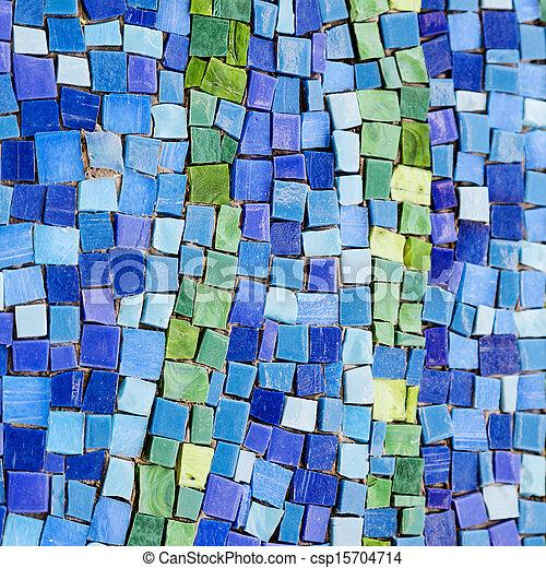 Colourful mosaic pattern - csp15704714