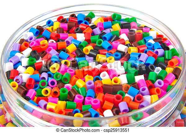 Colourful plastic small cylinders toys - csp25913551