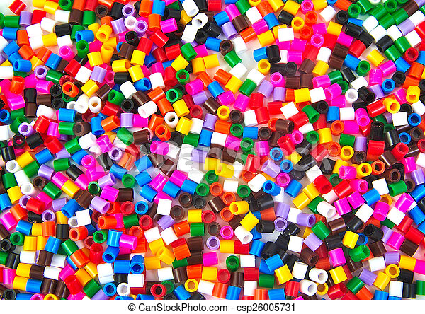 Colourful plastic small cylinders toys - csp26005731