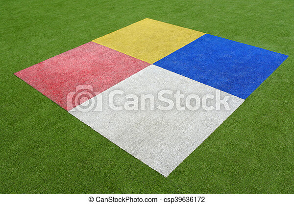 Colourful rectangles background - csp39636172