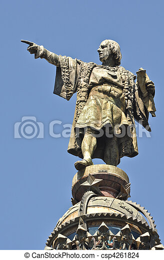 Christopher Columbus Statue - csp4261824