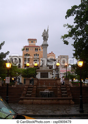 Kolumbus Park San Juan - csp0909479
