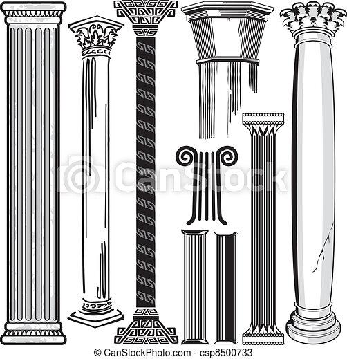 Colección de columnas - csp8500733