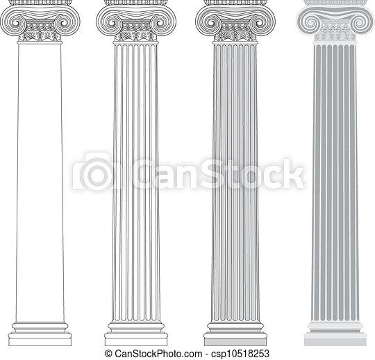 Columna iónica - csp10518253