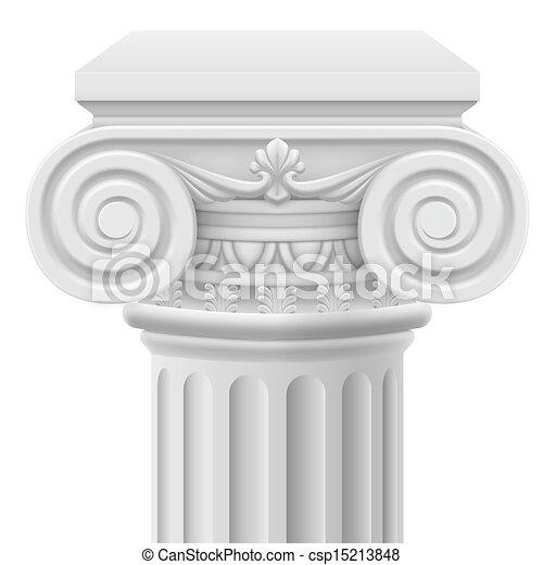 Columna iónica - csp15213848