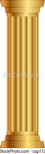 Columna de oro - csp11211933