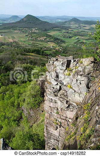 Columnar basalt - csp14918282