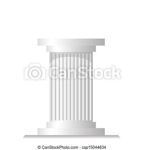 coluna, antiga - csp15044634