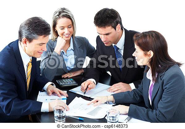 comércio pessoas, equipe - csp6148373