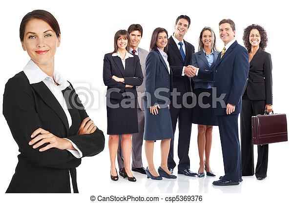 comércio pessoas, equipe - csp5369376