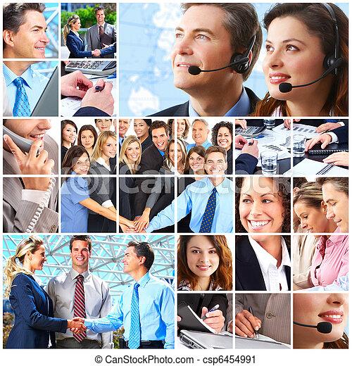 comércio pessoas, equipe - csp6454991