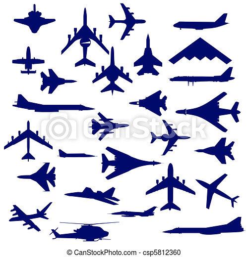 Combat aircraft.  - csp5812360