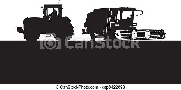 combinar, trator - csp8422893