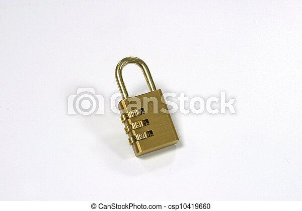 Combination lock - csp10419660