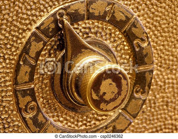 Combination Lock - csp0246362